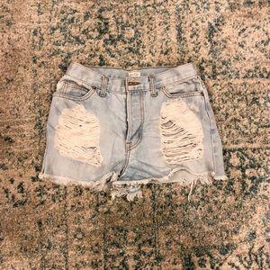 John Galt by Brandy Melville jean shorts